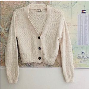 Cotton On   Cropped 3 Button Sweater